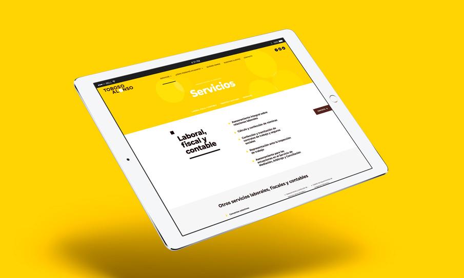 Diseño web corporativa 6