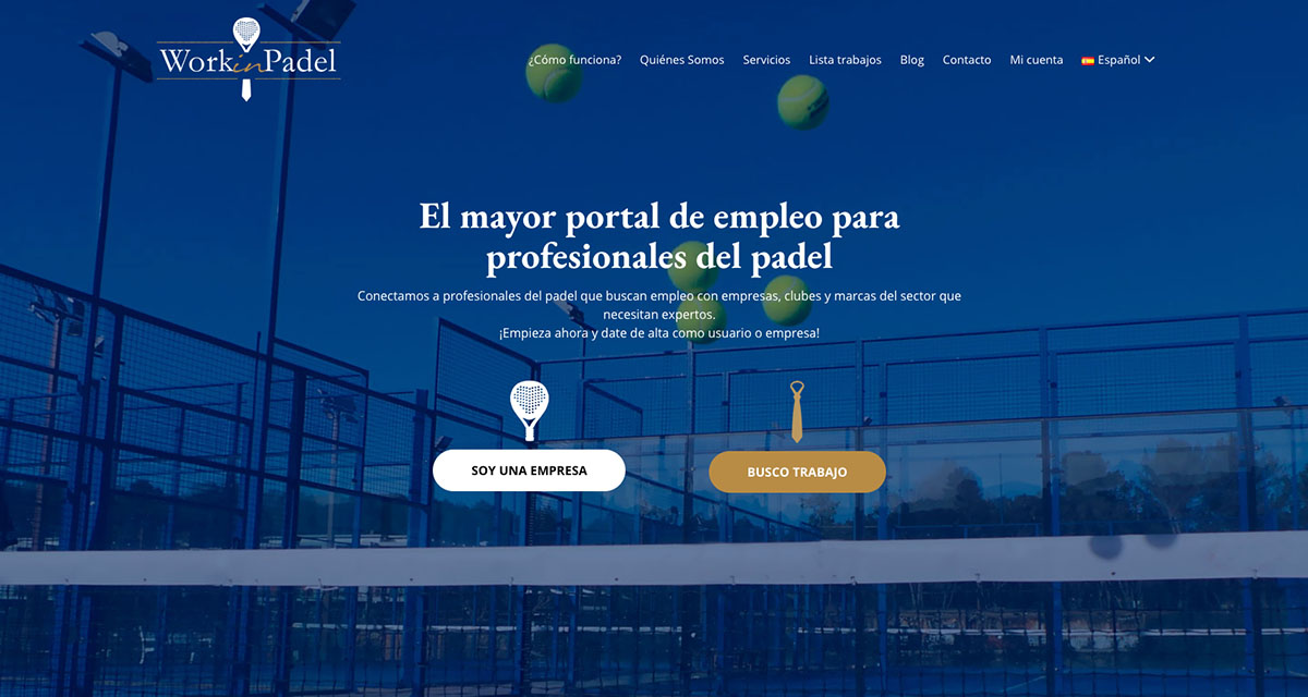 Work in Padel