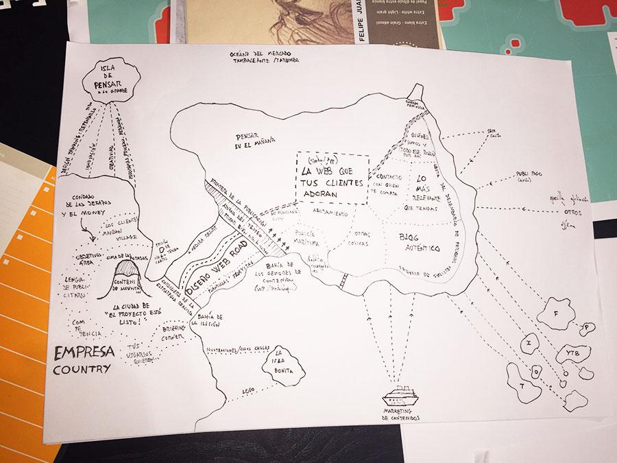 Un mapa que guía a nuestros clientes 1