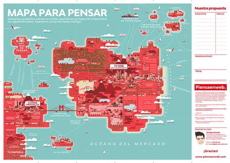 Un mapa que guía a nuestros clientes 2